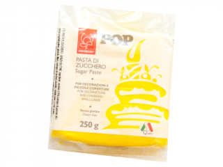Pop Sugar Paste 250 g – žlutá